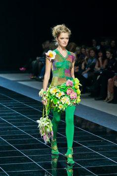 crochet knit unlimited: Anna Lesnikova (dresses, knitting) and Oksana Kalinina aka Aeromaker (bags, felting)