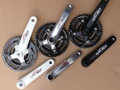 Suntour chainset #alloy arm #22/32/42 crank set new bike cycle mtb black #white ,  View more on the LINK: http://www.zeppy.io/product/gb/2/231618391469/