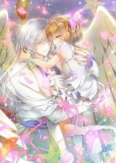Cardcaptor sakura - Yue & Sakura