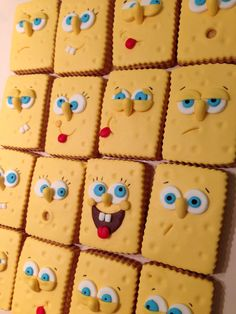 Spongebob cookies