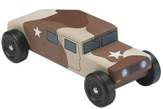 pinewood derby humvee - Google Search