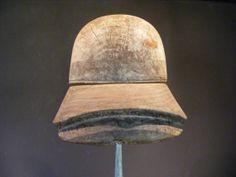 Vintage wooden hat block millinery fascinator by vintagehatblocks