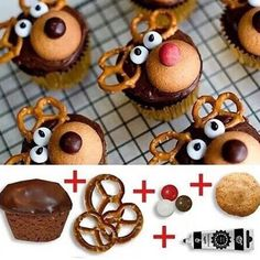Easy DIY Reindeer treats!