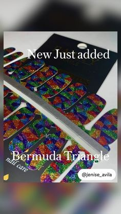 Bermuda Triangle, Galaxy Nails, Lost In Space, Color Street, Rarity, Glitter Nails, Nail Colors, Nail Designs, Weaving