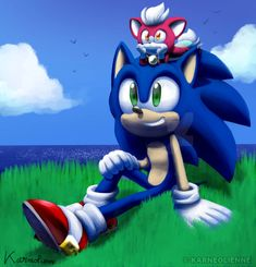 Picture I did for the Anniversary of Sonic Unleashed.and yes, I wanted to remake my picture I've done for the anniversary that you can . Sonic and Chip looking at the Sky Sonic Mania, Sonic And Amy, Sonic And Shadow, The Sonic, Sonic The Hedgehog, Dragon Ball, Sonic Unleashed, 9th Anniversary, Nostalgia