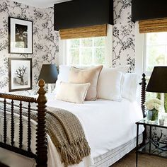 50 Modern Farmhouse Bedroom Decor Ideas Makes You Dream Beautiful In If you are looking for [keyword], You come to the right place. Below are the 50 Modern Farmhouse Bedroom Decor Ideas Makes Yo. Home Decor Bedroom, Cozy Bedroom, Farmhouse Style Bedrooms, Beautiful Bedrooms, Home, Small Guest Rooms, Guest Bedrooms, Bedroom Design, Home Decor