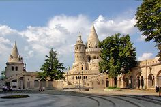 fisherman's bastion budapest - Google Search