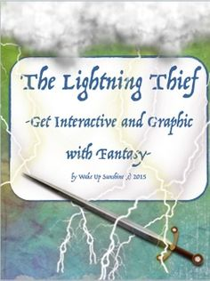 The Lightning Thief Novel Unit The Olympians Teaching And Percy Jackson