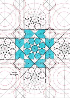 Islamic Art Pattern, Arabic Pattern, Arabic Calligraphy Art, Arabic Art, Geometric Drawing, Geometric Art, Arabesque, Pattern Drawing, Pattern Art
