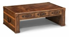 Flexsteel Furniture: Occasional Tables: WhiskeyRect Cocktail Table (6712-031)