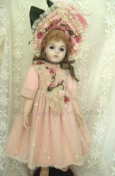 "28"" French Doll Dress Antique Style Pattern Chastity | eBay"