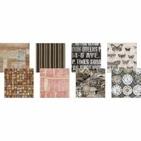 Tim Holtz Eclectic Elements Charm Pack Doc 10inx10in 8pcs