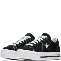 sports shoes 90860 296d1 Converse x MadeMe One Star Platform Black White White Chaussure