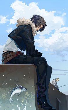 Arte Final Fantasy, Final Fantasy Characters, Final Fantasy Artwork, Batman Artwork, Cg Artwork, Amazing Art, Character Art, Cool Art, Anime Art