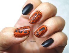 Fife Fantasi Nails : Crackle nails with Barry M