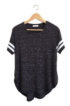 Charcoal Track Tee from ROOLEE