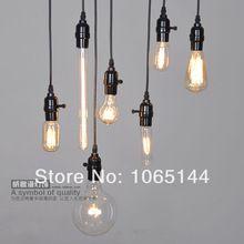 Novo 2014 estilo americano do vintage luz pingente de lustre industrial loft moderno edison para retaurent sala de jantar para decoration1PC(China (Mainland))