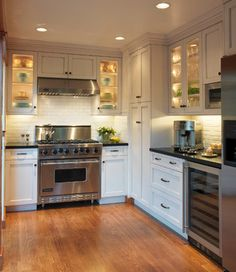 Old Mill Park - traditional - kitchen - san francisco - Barbra Bright Design