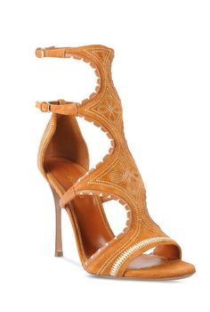 "Sergio Rossi Spring 2016 ""Maya"" sandal."