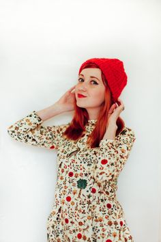 Amazing Samantha Pleet dress (& cute knit hats!) - The Clothes Horse