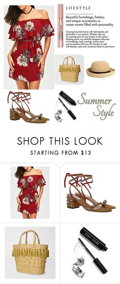 """summer style"" by selma-imsirovic-01 ❤ liked on Polyvore featuring Valentino, White Stuff, H&M, Bobbi Brown Cosmetics and L'Oréal Paris"