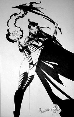 Shadow Lass by Steve Lightle