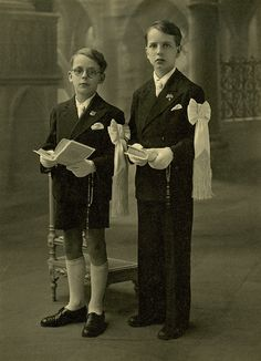 Two Boys' First Communion by ~millesime on deviantART