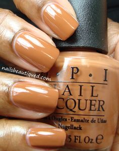 OPI San Francisco Fall 2013 Collection, A-Piers To Be Tan