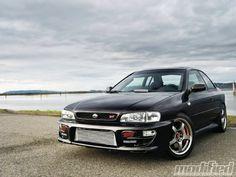 Modp 1210 01+2000 subaru impreza 2 5rs coupe+cover