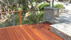 Cable Railing Images posted by San Diego Cable Railings. A variety of cable railing images containing deck railings, cable fencing, and stairway railings. Wood Railing, Deck Railings, Outdoor Spaces, Outdoor Living, Outdoor Decor, Cable Railing Systems, Deck Seating, Deck Makeover, Deck With Pergola