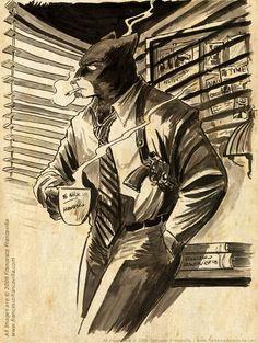 John Blacksad, de profesión detective.