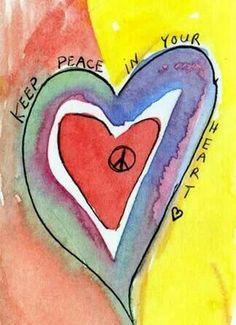 Keep peace & ♡