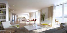 CARISMA Immobilien Wohprojekt Hötting-Allerheiligen Einrichtungsvorschlag Dining Table, Furniture, Home Decor, All Saints Day, Real Estates, Homes, Decoration Home, Room Decor, Dinner Table
