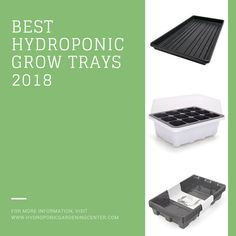 Find the best grow trays for your hydroponic and aquaponic gardens. #hydroponics #aquaponics #growtrays #hydroponicgardeningcenter.com