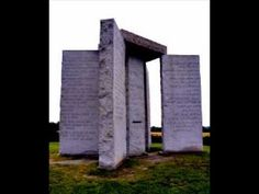 Georgia Guidestones : Apocalypse Forseen or NWO Ten Commandments  check this out, in our own beautiful state of Georgia