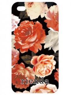 rienda Case for iPhone5ケース Rose(BLK)(iPhone5/BK)