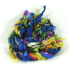 ChaCha Elements 26yds Textile Fiber Art Yarn by FishBayElements