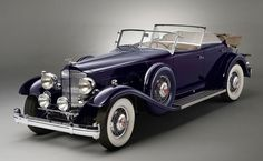 1932 Packard Twin Six Sport Phaeton. Body by Dietrich.