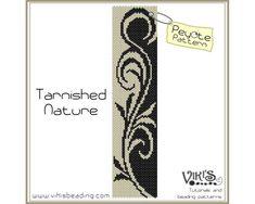 tribal+pattern+Peyote+Stitch+Designs | Tarnished Nature: Peyote Pattern Pattern