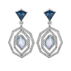 Alpenglow Statement Earrings | Chloe + Isabel ($48) ❤ liked on Polyvore featuring jewelry, earrings, chloe isabel jewelry and statement earrings