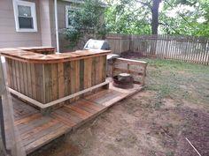 #Pallet Bar & Decking - http://dunway.info/pallets/index.html