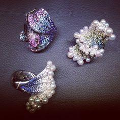 """「 Новая """"Подводная"""" коллекция #Palmiero #Baselworld2015 #jewellery 」"""