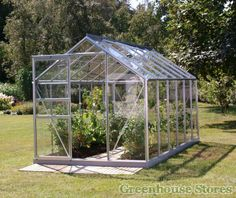 Vitavia Venus Silver 6x12 Greenhouse with Horticultural Glazing from Greenhouse Stores with free delivery to your door.  http://www.greenhousestores.co.uk/Vitavia-Venus-Silver-6x12-Greenhouse-3mm-Horticultural-Glazing.htm
