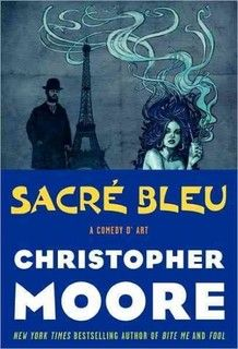 "Want to read!!  ""If he had to give a brief rundown of his latest novel, Sacre Bleu: A Comedy d'Art, he says, 'I'd talk about it being a book about the color blue, and about solving the murder of Vincent van Gogh and the sort of mystical quality of making art. And it's funny.'"""