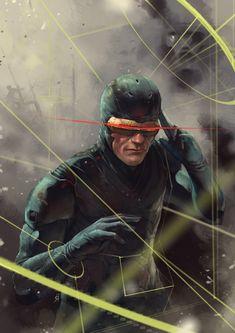 awesome superhero digital art created by Dan Mora.