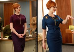Image result for joan mad men style