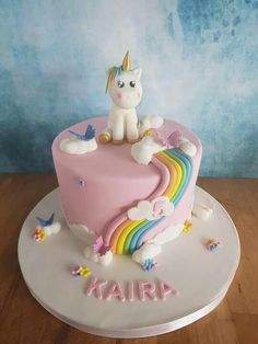 Ava's birthday party - birthday Cake Ideen Cupcakes, Unicorn Birthday Parties, Birthday Cake, Pony Cake, Savoury Cake, Celebration Cakes, Mini Cakes, No Bake Cake, Cake Designs