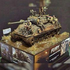 No photo description available. Tamiya Model Kits, Tamiya Models, Plastic Model Kits, Plastic Models, Sherman Tank, Model Hobbies, Model Tanks, Military Modelling, Ww2 Tanks