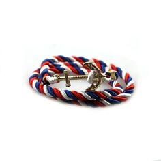 2017 Vintage Woven Multilayer Anchor Bracelets & Bangles For Women Men Jewelry Trendy Rope Bracelet New Hot Brand Accessories - 4
