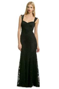 If ever I have an occasion (in fantasy-land)...love the details of this Nicole Miller dress.